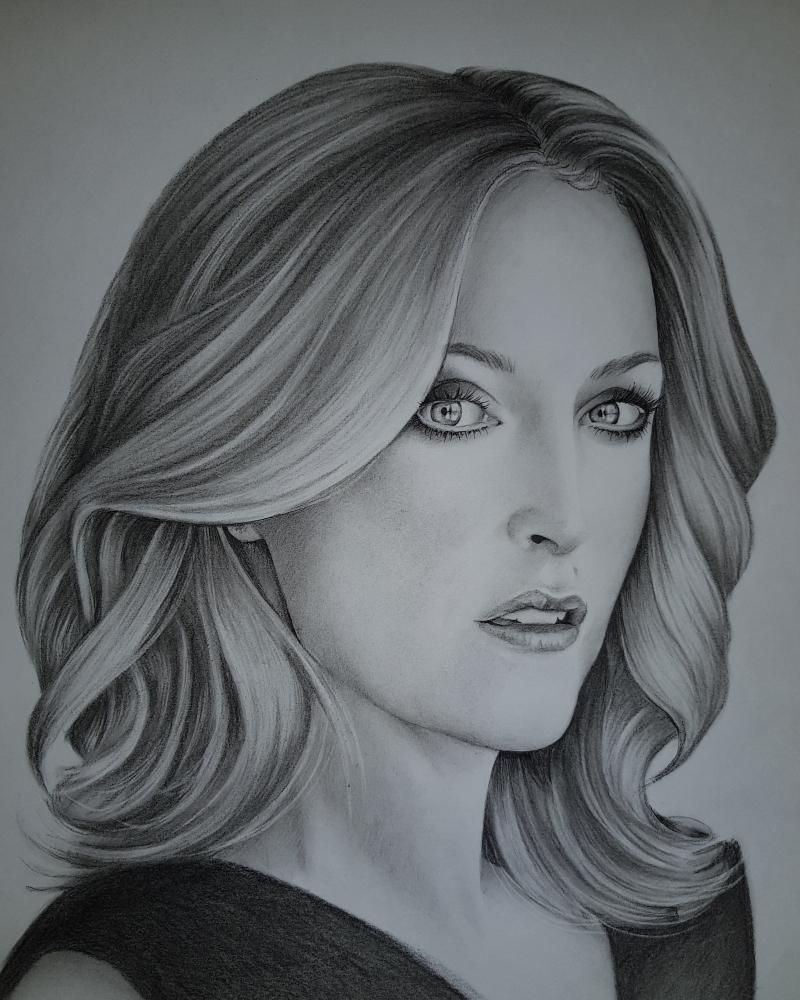 Gillian Anderson by TataZalesskaya